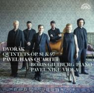 ピアノ五重奏曲、弦楽五重奏曲第3番:パヴェル・ハース四重奏団、ボリス・ギルトブルク(ピアノ)、他 (2枚組/180グラム重量盤レコード/Supraphon)