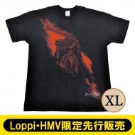 オーバーロードIII×久米繊維 コラボTシャツ モモン(XL)【Loppi・HMV先行】