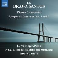 交響的序曲集、ピアノ協奏曲、他 アルヴァロ・カッスート&ロイヤル・リヴァプール・フィル、ゴラン・フィリペツ