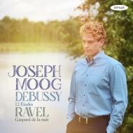 ドビュッシー:12の練習曲、見出された練習曲、ラヴェル:夜のガスパール ヨゼフ・モーク