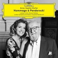 『ペンデレツキへのオマージュ』 アンネ=ゾフィー・ムター、ランバート・オーキス、ロマン・パトコロ、ロンドン交響楽団(2CD)