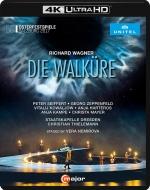 『ワルキューレ』全曲 ネミロヴァ演出、ティーレマン&ドレスデン、ザイフェルト、ハルテロス、他(2017 ステレオ)(日本語字幕付)(4K ULTRA HD)