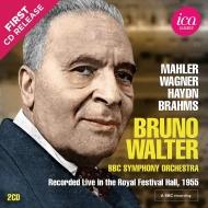 マーラー:交響曲第1番『巨人』、ハイドン:『奇跡』、ブラームス:運命の歌、他 ブルーノ・ワルター&BBC交響楽団(1955)(2CD)