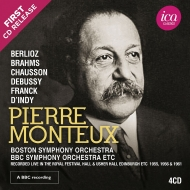 ピエール・モントゥー 秘蔵音源集 1955、1956、1961(4CD)