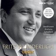 フリッツ・ヴンダーリヒ、ドイツ・リートを歌う〜シューマン:詩人の恋、シューベルト:美しき水車小屋の娘、ヴォルフ、ブラームス、他 1955-65(3CD)