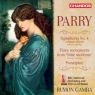 交響曲第4番(原典版)、バレエ音楽『プロサーパイン』 ラモン・ガンバ&BBCウェールズ・ナショナル管弦楽団