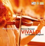 ヴァイオリン協奏曲集「四季」:レイチェル・ポッジャー(ヴァイオリン)、ブレコン・バロック (180グラム重量盤レコード/Channel Classics)