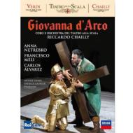 Giovanna D'arco: Leiser & Caurier Chailly / Teatro Alla Scala Netrebko F.meli Alvarez