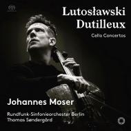 ルトスワフスキ:チェロ協奏曲、デュティユー:チェロ協奏曲 ヨハネス・モーザー、トマス・セナゴー&ベルリン放送交響楽団