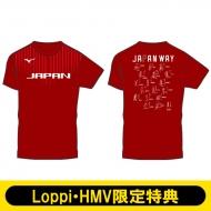 【JAPAN WAY/Sサイズ】 2018-19全日本女子バレーボールチーム公式応援Tシャツ