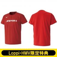【背番号無し/Mサイズ】 2018-19全日本女子バレーボールチーム公式応援Tシャツ
