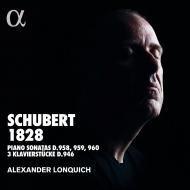 ピアノ・ソナタ第19番、第20番、第21番、3つの小品 アレクサンダー・ロンクィッヒ(2CD)