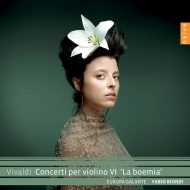 『ラ・ボヘミア』〜ヴァイオリン協奏曲集 ファビオ・ビオンディ、エウローパ・ガランテ