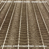 Different Trains:クロノス・クァルテット、Electric Counterpoint:パット・メセニー (アナログレコード/Nonesuch)