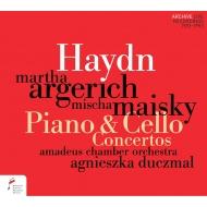 ピアノ協奏曲ニ長調、チェロ協奏曲第1番、他 マルタ・アルゲリッチ、ミッシャ・マイスキー、アグニェシュカ・ドゥチマル&アマデウス室内管弦楽団