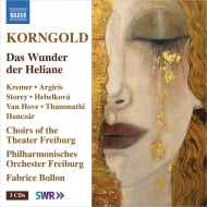 コルンゴルト (1897-1957)/Das Wunder Der Heliane: Bollon / Freiburg Po A.kremer Argiris Storey Hebelkova