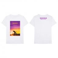 Sunset Bohemian Rhapsody Movie T-shirt White L(※2019年4月上旬入荷分)