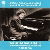 ブラームス:ピアノ協奏曲第2番、モーツァルト:ピアノ協奏曲第27番 バックハウス、ベーム&ウィーン・フィル(ライヴ)(平林直哉復刻)