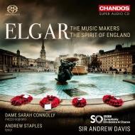 ミュージック・メイカーズ、イングランドの精神 アンドルー・デイヴィス&BBC交響楽団、サラ・コノリー、他