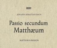 マタイ受難曲 カール・リヒター&ミュンヘン・バッハ管弦楽団、エルンスト・ヘフリガー、他(1958)(3CD)