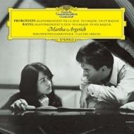 プロコフィエフ:ピアノ協奏曲第3番、ラヴェル:ピアノ協奏曲 マルタ・アルゲリッチ、クラウディオ・アバド&ベルリン・フィル