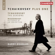 チャイコフスキー:四季、ムソルグスキー:展覧会の絵 バリー・ダグラス