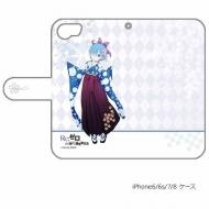 手帳型スマホケース(レム / 袴)iPhone6&7&8兼用