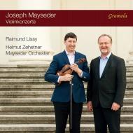 ヴァイオリン協奏曲第1番、第2番、第3番 ライムント・リシー、ヘルムート・ツェートナー&ヨーゼフ・マイセダー管弦楽団