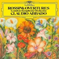 序曲集:クラウディオ・アバド指揮&ロンドン交響楽団 (180グラム重量盤レコード/Deutsche Grammophon)