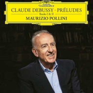 前奏曲集第1巻&第2巻:マウリツィオ・ポリーニ(ピアノ)(2枚組/180グラム重量盤レコード/Deutsche Grammophon)