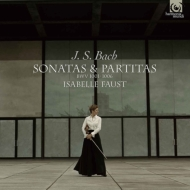 無伴奏ヴァイオリン・ソナタとパルティータBWV 1001-1006(全曲) イザベル・ファウスト(Vn)【限定再プレス】(6枚組/アナログレコード)
