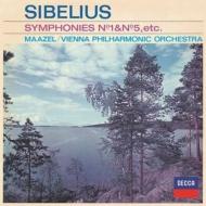 交響曲第1番、第5番、『カレリア』組曲 ロリン・マゼール&ウィーン・フィル