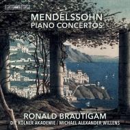 ピアノ協奏曲第1番、第2番、華麗なロンド、華麗なカプリッチョ、他 ロナルド・ブラウティハム、マイケル・アレグザンダー・ウィレンズ&ケルン・アカデミー