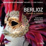 『ロメオとジュリエット』 マイケル・ティルソン・トーマス&サンフランシスコ交響楽団、サーシャ・クック、ニコラス・パン、ルカ・ピサローニ(2SACD)