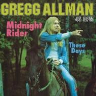 Midnight Rider / These Days (高音質盤/45回転仕様/200グラム重量盤/12インチシングルレコード/Analogue Productions)