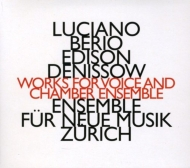 Works For Voice & Chamber Ensemble: H.fassbender(Ms)Hennerberger / Ensemble Fur Neue Musik Zurich +denisov