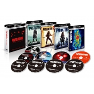 プレデター クアドリロジーBOX <4K ULTRA HD + 3D + 2Dブルーレイ/9枚組>