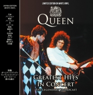 Queen Greatest Hits In Concert (ホワイト・ヴァイナル仕様/アナログレコード/CODA Publishing)