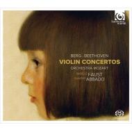 ベートーヴェン:ヴァイオリン協奏曲、ベルク:ヴァイオリン協奏曲 イザベル・ファウスト、クラウディオ・アバド&モーツァルト管弦楽団(シングルレイヤー)