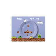 スーパーマリオ ホーム&パーティー ペーパープレートセット(8-bit ステージ)