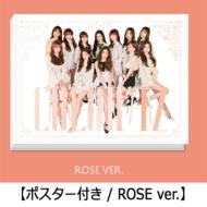 《ポスター付き》 1st Mini Album: COLOR*IZ (ROSE ver.)