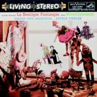 風変わりな店(レスピーギ)ディベルティスマン(イベール):フィードラー指揮&ボストン・ポップス・オーケストラ (200グラム重量盤レコード/Analogue Productions/*CL)