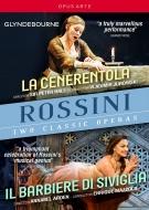 グラインドボーン音楽祭〜ロッシーニ:チェネレントラ(2005)、セヴィリャの理髪師(2016)(3DVD)