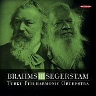 ブラームス:交響曲第3番、セーゲルスタム:交響曲第294番 レイフ・セーゲルスタム&トゥルク・フィル
