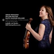 プロコフィエフ:ヴァイオリン協奏曲第1番、ウォルトン:ヴィオラ協奏曲、他 イザベル・ファン・クーレン、アンドルー・マンゼ&北ドイツ放送フィル、他