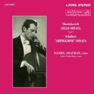 Arpeggione Sonata: Shafran(Vc)Pecherskaya(P)+shostakovich: Cello Sonata