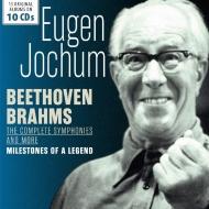 Beethoven Complete Symphonies, Brahms Complete Symphonies : Eugen Jochum / Bavarian Radio Symphony Orchestra, Berlin Philharmonic, etc (10CD)