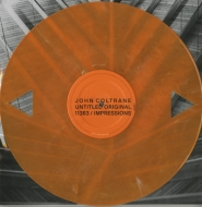 Selects From Both Directions At Once (Dual-triangle Die-cut Orange Vinyl)