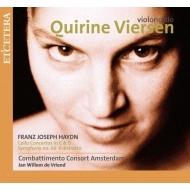 チェロ協奏曲第1番、第2番、交響曲第60番『うかつ者』 キリーヌ・フィールセン、ヤン・ヴィレム・デ・フリエンド&コンバッティメント・コンソート・アムステルダム