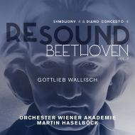 交響曲第4番、ピアノ協奏曲第4番 マルティン・ハーゼルベック&ウィーン・アカデミー管弦楽団、ゴットリープ・ヴァリッシュ